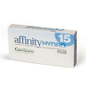 Affinity Hydro 15 | Lenti quindicinali - 6 lenti